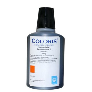 Coloris Textilstempelfarbe Berolin-Ariston P (250 g) blau